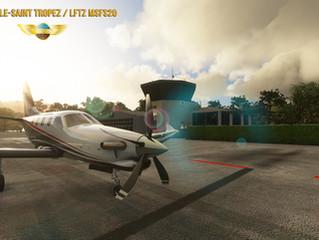 Pilot Experience Sim Saint-Tropez LFTZ MSFS20