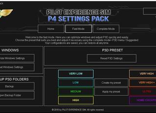 PESIM P4 Settings Pack V2.1 update