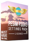 PESIM P3DV3 SP V3