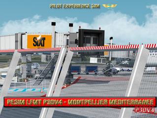 New PESIM LFMT P3DV4 scenery available