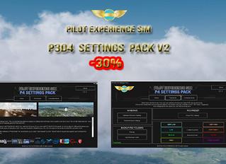 30%  spring discount on PESIM P3D4 Settings Pack v2