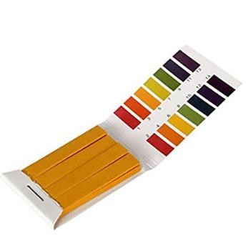 Tiras de papel para medir pH