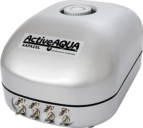 ActiveAqua Bomba de Aire para hidroponia - de 1 a 8 salidas
