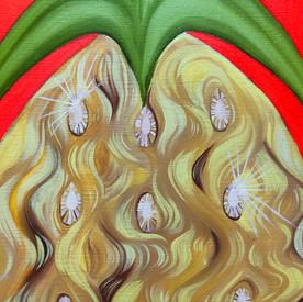 Pineapple (detail shot)
