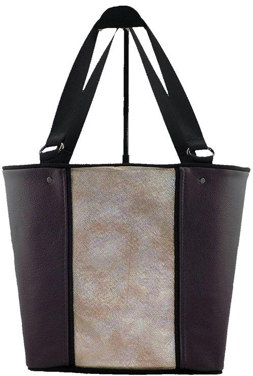Purple - Metallic Leather