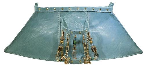 Baby Blue Leather - Bracelet