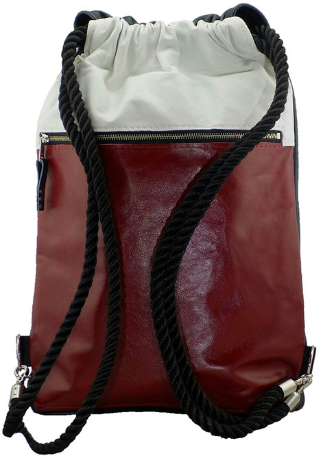 Red-White-Blue Leather