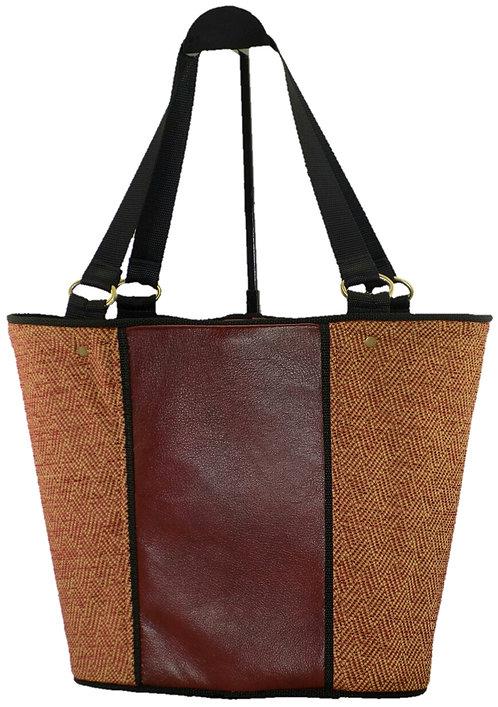 Rust Leather - Rust Tweed