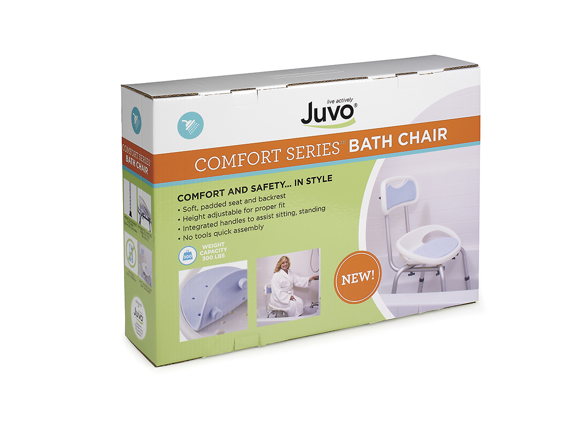 New Comfort Series Bath Safety Products From Juvo