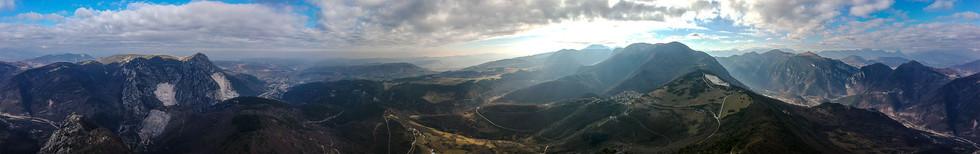 360° dal Monte Revellone