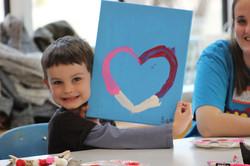 Valentine's Art Class