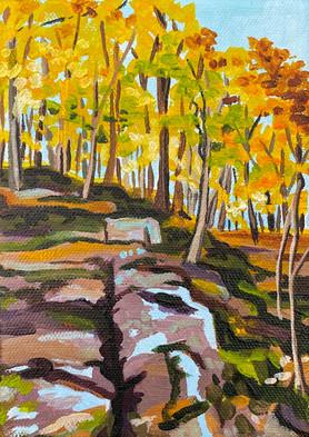 Cliffs in Autumn
