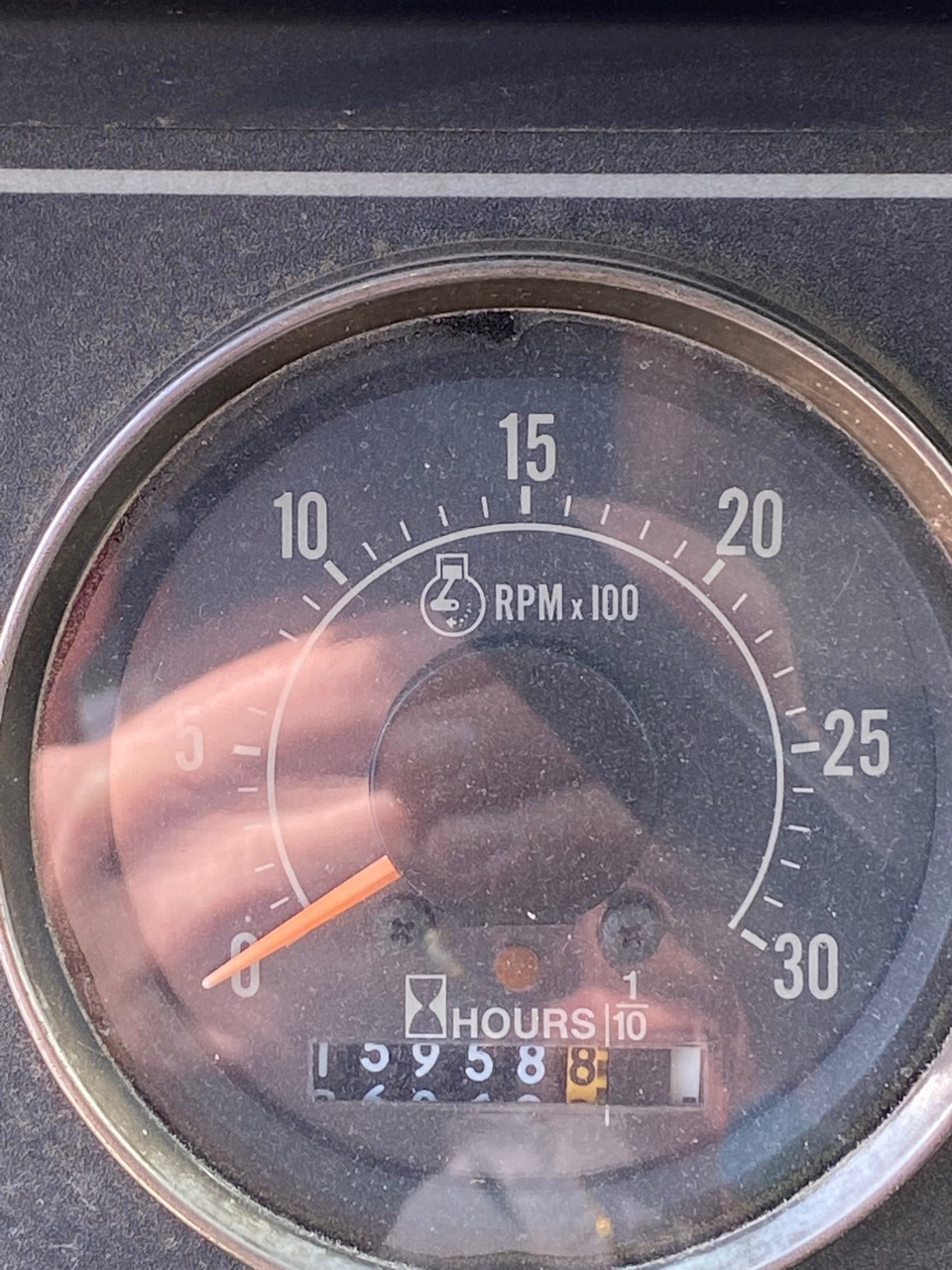 Terex T-340 40-Ton Crane Odometer