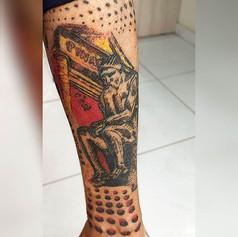 Tatuagem preferida da minha mamãe, fique