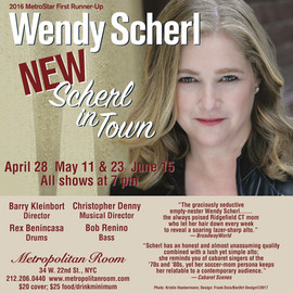 Wendy Scherl NEW Scherl in Town Show Flyer