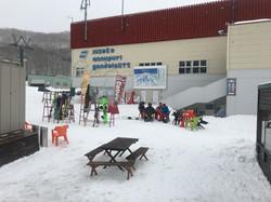 あンヌプリ国際スキー場ゴンドラ乗り場