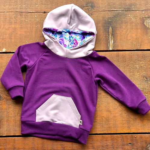 *SPECIAL 6-12m Boysnberry Signature Hoodie