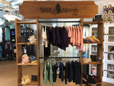 We had an amazing day yesterday at Vitality in Kitimat launching our fall/winter line Islands of the
