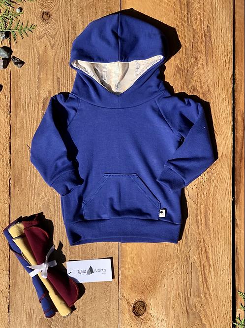 Sapphire Blue Signature Hoodie 6-12m