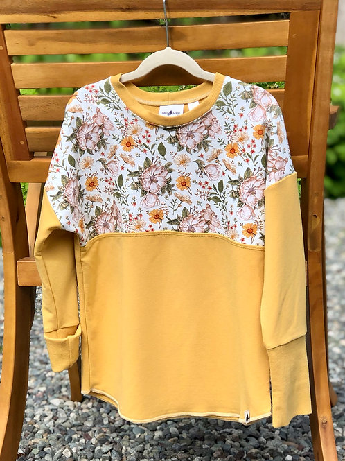 6-9 year Dolman Pull Over (Grow-with-me)