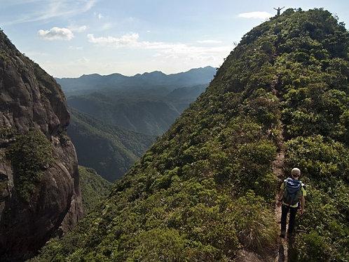Trilha Parque Estadual do Marumbi + Trilha do Rochedinho em Morretes PR.