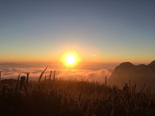 Nascer do Sol no Pico Paraná