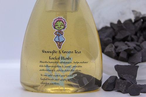 Shungite & Green Tea Foaming Face Wash