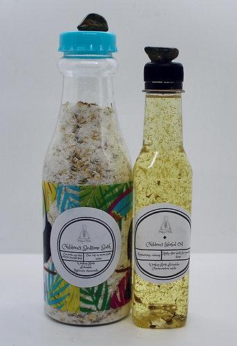 Children's Herbal Bath & Oil
