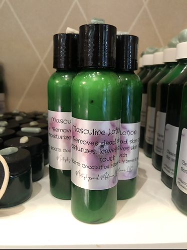 Masculine Lotion