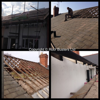 Mr & Mrs Benton and Mr & Mrs Evans - 2 Tiled roofs - Walsall