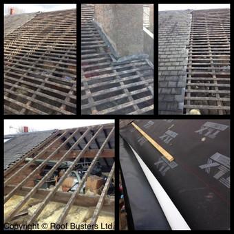 Mr & Mrs Donnellan - Tiled roof Installation.