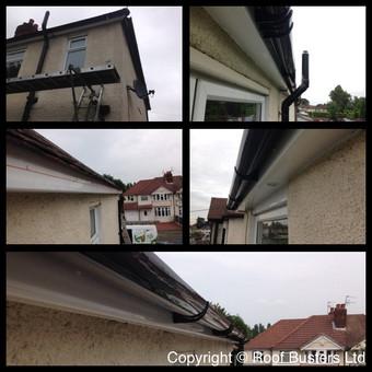 Harry & Ross Parker - Firestone roof & FSG replacement- Willow av.