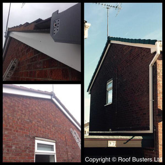 Another installation completed... Mrs Hill - Ridge replacement - Stafford.