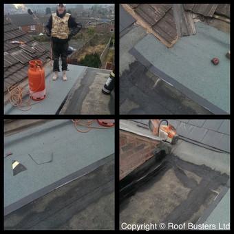 Mrs Bradbeer - 3 Layer Felt roof