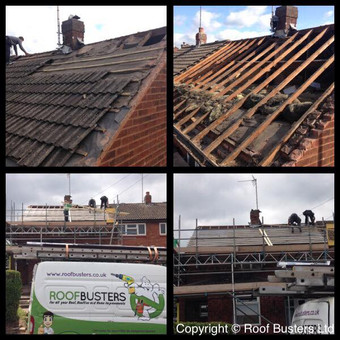 Beth & Luke Pagett - Tiled roof replacement - Rugeley.