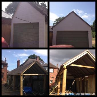 Mr & Mrs Swift - Carpentry work & Tiled roof - Stafford