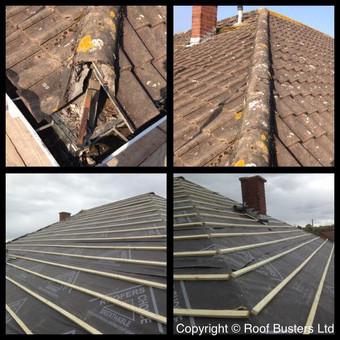 Here are the full installation pictures of two neighbouring property's that were fitted at the s