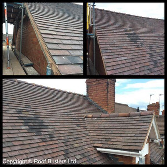 Mr Arnold -Tiled Roof - Rugeley.