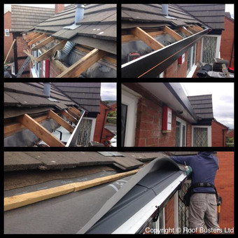 Mr Rogers - Telford - Faux wood Fascia replacement. We have completed a Fascia full replacement with