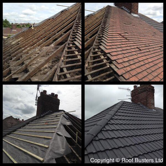 Mr Burslem - Tiled Roof - Stoke on Trent.