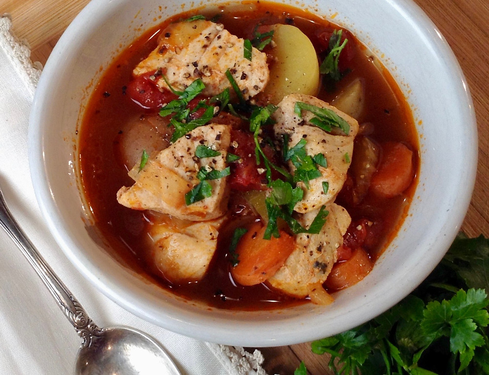 Manhattan Fish Chowder
