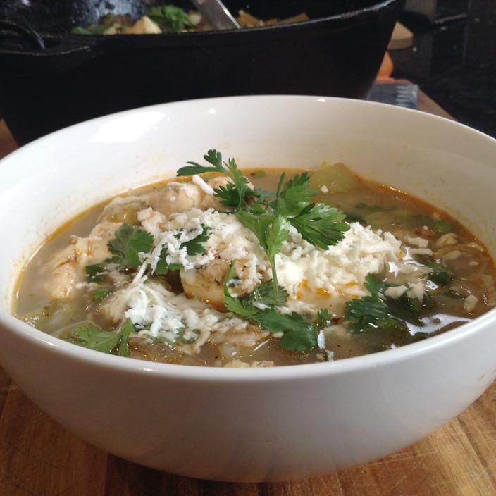 Halibut Recipe? Halibut Tortilla Soup!