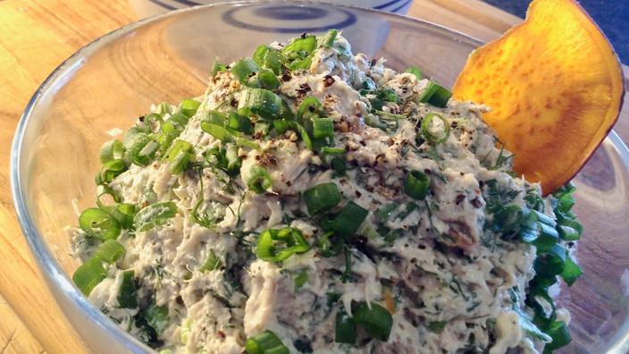 Smoke Tuna Dip & Homemade Potato Chips
