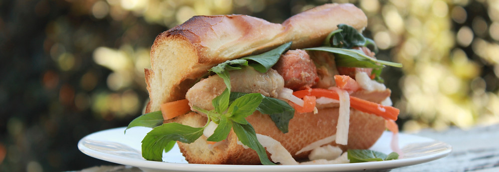 Banh Mi fish sandwich