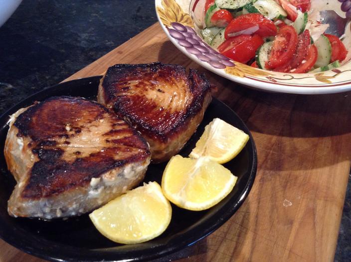 Fried Tuna Steaks - Super Fast & Yummy!