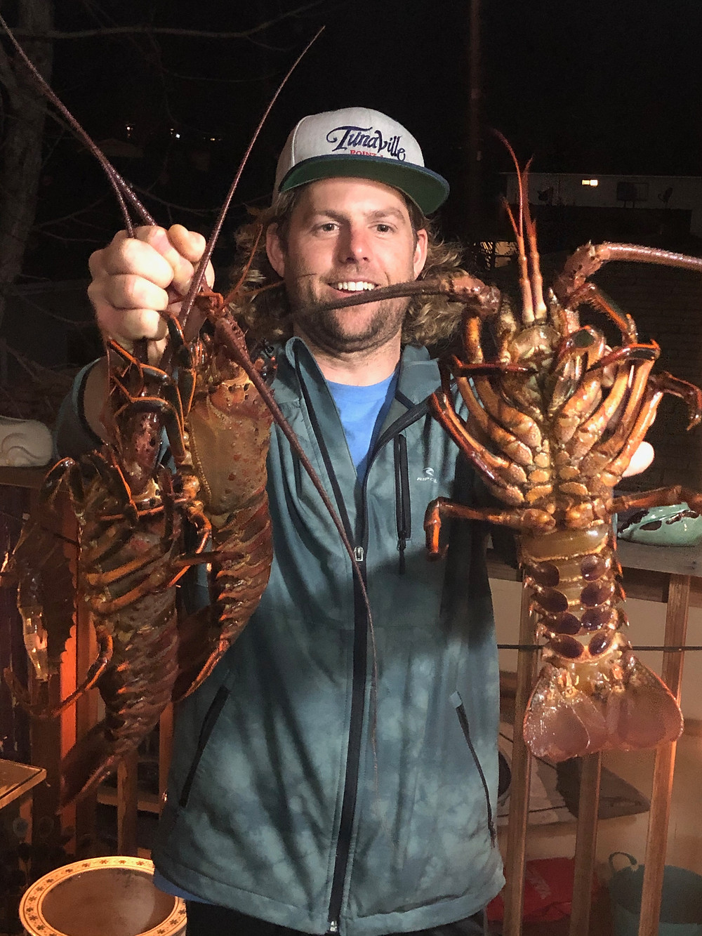 Catch and cook lobsters