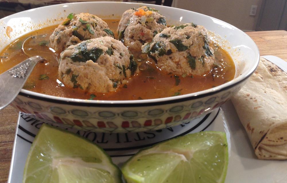 fish albondigas recipe