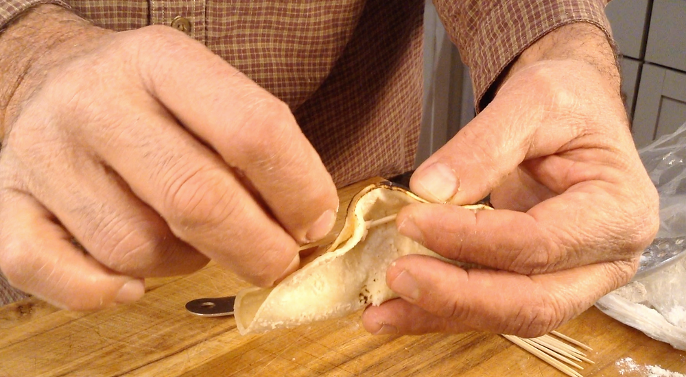 how to fry tacos