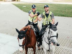 Raitasis policijos būrys gavo galimybę įrodyti savo vertę