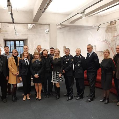 Italijos policijos asociacijos atstovai susitiko su pareigūnų profesinėmis sąjungomis